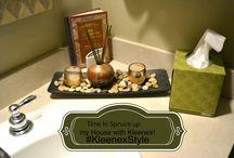 #KleenexStyle Inspirations / Decorating houses in my room with Kleenex!