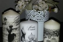 candele decorate