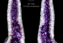 Amethyst Geodes and Cathedrals / Here you will find our current offerings of sparkling, one of a kind amethyst geodes available at our online crystal boutique. FREE INSURED SHIPPING WITHIN THE CONTINENTAL USA!