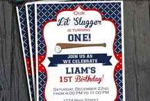 Baseball Party | THEME | SPORTS / #baseballparty #baseballbirthday #SportsParty #partyinvite #ForeverYourPrints #FYP #4EverYourPrints #PartyTheme #PartyIdeas #Inspiration #Printables #PartyPrintable / by Forever Your Prints