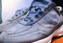 Rigenerazione Colore / Rigenerazione colore scarpa Hogan. Il nostro servizio di rigenerazione del colore dona alle scarpe il colore originario, brillante e vivo, come nuovo.