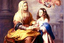 St. Anna and st. Joachym