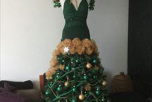 Kerstboom / Zelfgemaakte