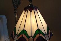 витражи лампы
