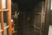 Home recording studio and vocal booth