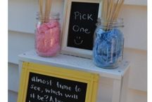 Gender reveal ideas / by Andrea Hatchett