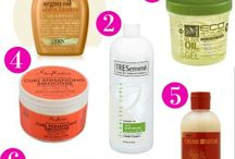 naturel hair products