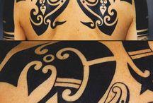 maori schiena