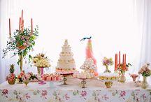 Marie Antoinette dessert table