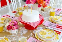 BRIDAL SHOWER IDEAS / by A Blissful Nest