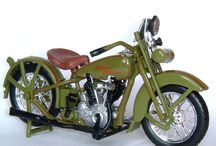 Model Motorcycles / Miniature motorbikes, scooter, hogs, cycles