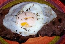 portuguese steak egg and chips