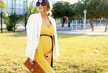 Madre Embarazada Moderna