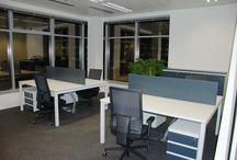 Naše realizace / Interiéry, které jsme vybavovali nábytkem - kanceláře, restaurace, byty