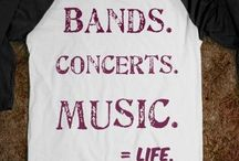 bands concerts music = life