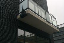 Enschede, Het Brouwhuis / Levering stalen frame en  'look-a-like beton' composietplaat