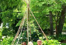 Garden / Ideas to use in small garden spaces.