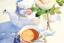 Watercolor Art / Watercolor art that is inspiring me to be a better artist / by Nancy O'Donnell