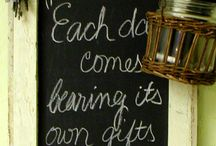 lovely chalkboards