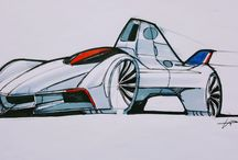 My sketchbook / car sketches. design sketches