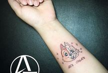 Tatoo chip and dale