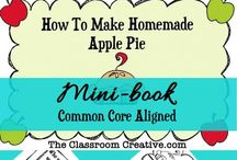 Apple Unit Ideas / Great ideas for primary grade classrooms for apple units! #appleunit #fall / by The Classroom Creative