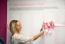 Challengers Wall 2015 / On Saturday 14th November, 200 £1000 Challengers and their guests attended the 6th Challengers' Wall unveiling at the Institute for Cancer Research in South Kensington. It was a great day, where supporters had the opportunity to see exactly what they're hard earned money is spent on. Find out more about the £1000 Challenge > http://bit.ly/1LLiJ6G / by Breast Cancer Now