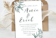 Maraquela Wedding / Wedding Stationery Design & Invitations  https://www.instagram.com/maraquela_wedding/