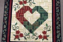 Log-Cabin-Quilts