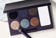 Editorial Palette / Smudge, line, stamp, set with studio-inspired brushed metal & mate textured clay eye colour.