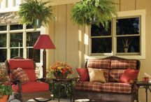 Front porch oasis