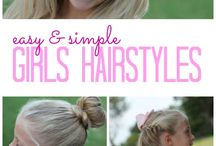 Hairstyles for lil' girls