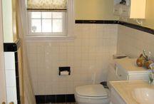 My 1950's bathroom / by Ashley Johns