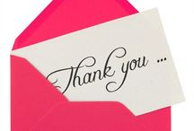 Thank You Notes / by Lycoming College IMS
