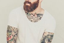 Beards and Tats! / Everyone loves the bad boys of romance! Bringing those beaded, tattooed hunks straight to your feed!