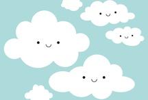 clouds / by Jennifer Villeneuve