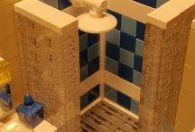 Lego - łazienka