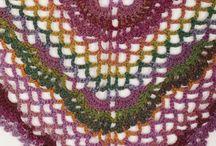 Crochet - Shawl, kerchief, scarf,
