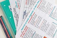 ideias para organização dos estudos