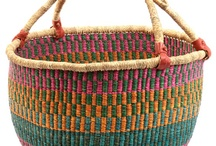 Fair Trade Baskets / Fair and Fabulous has some great Fair Trade baskets for sale in the shop.