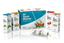 GC #ToothMousse &# TouthMoussePlus / Tooth Mousse and Tooth Mousse Plus are topical tooth crèmes that help strengthen and rejuvenate the patient's teeth. Both of the products bind calcium and phosphate to the tooth surfaces, plaque and surrounding soft tissue.