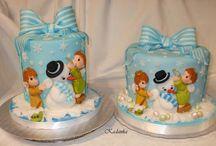 Vianočné torty / Christmas cakes