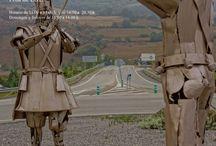 """Exposición """"El Camino"""" / Exposición realizada en Lena en Asturias del 2 al 16 Mayo 2013."""