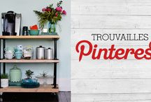 Trouvailles Pinterest: Chariots à café