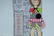 Prima lge girl stamps ideas