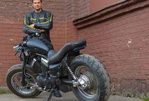 Custom Yamaha XV Virago 535 / http://bikeglam.com/custom-yamaha-xv-virago-535-specifications-and-pictures/