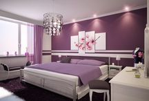 My dream bedroom / Interier design