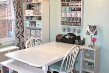 craft room ideas / by Loryanna Satterlund