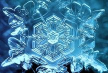 Krystaly vody - Water crystals
