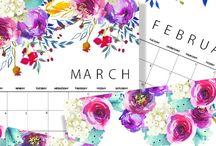 Diář a kalendář 2018